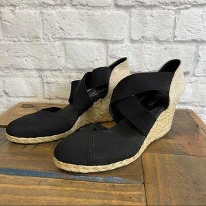 LAUREN RALPH LAUREN Espadrilles Wedges Sandals Black